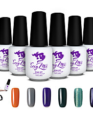 Sexy Mix UV Gel Builder Nail Salon Strong False Tips Extension Polish Nail Art