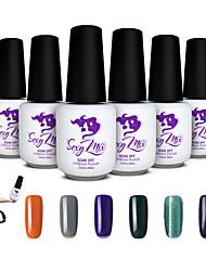 sexy Mix UVgel-Erbauer Nagelstudio starke Spitzen falschen Erweiterung Lack Nail Art