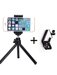 Aluminum Alloy Mini Tripod and Clamp with Mobile Phone Clip