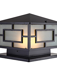 Square Post Villa Courtyard Door Lamp Wall Lamp, Outdoor Lighting Lamps And Lanterns LED