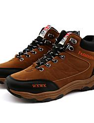 Men's Hiking Shoes  Black / Brown / Green