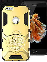New Ring Thor Series Metal Shell Ku Tide Cover Case for iPhone 6 Plus/6S Plus