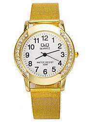 L.WEST Fashion High-end Restoring Ancient Ways Diamonds Quartz Watch