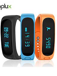 deporte rastreador de actividad Toplux reloj inteligente e02 pulsera inteligente podómetro resistente al agua bluetooth del sueño ios android