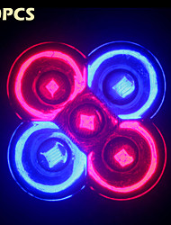 10Pcs  MORSEN® Full Spectrum  10W E27/GU10  3Red+2Blue  LED Grow lights  for Flower plant Hydroponics System