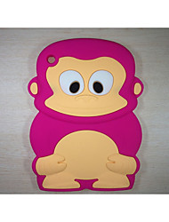 Monkey model Shockproof Cover Cute Rubber Silicone Case For iPad Mini 3/2/1(Assorted Color)