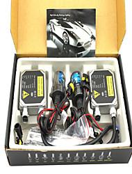 1998-2015 yeas modelos populares escondeu 9-36V 35W 2800lm branco único farol do carro lâmpada HID kit