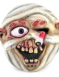 Horrible Eyeball Popped out Mummy Rubber Mask for Cosplay / Halloween Costume Party