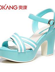 Aokang Women's  Chunky Heel Sandals
