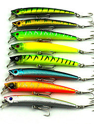 Anmuka Minnow Crank 7.3g 9.5cm 8pcs  Sea Fishing / Boat Fishing / General Fishing