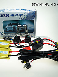55w 8000k H4-3 HID kit