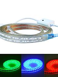 Jiawen 400 centímetros à prova d'água 24w 240-5050smd 8 modos rgb levou faixa de luz flexível (AC110 ~ 220V)