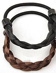 Повседневные - Резинки для волос ( Янтарь )