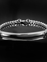 Hot Noble Exaggeration 925 Silver sterling Chain & Link Bracelets For Men