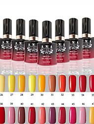 1 Stück ana 192 Farben gelpolish Nagelkunst tränken weg UVnagelgelpoliermittel 25-48