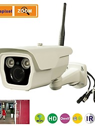 Mega Pixel IR Waterproof Bullet Wifi IP Camera