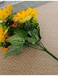 7 Head/Branch European Style Sunflower Tie-In Bouquet