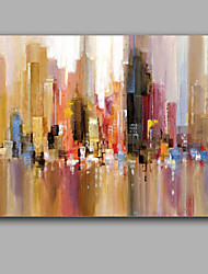 Abstract Modern House Painting Impression Style