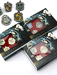 More Accessories Wizard/Witch Movie Cosplay Golden / Silver / Gray More Accessories / Badge / Brooch Halloween / Christmas / New Year