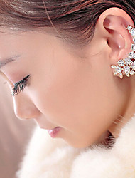 New Arrival Fashional Bohemia Rhinestone Leaf Earrings