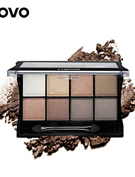 1Pcs Eight Color Art Mineral Pearl Shimmer Eye Shadow Matte Shadow Plate Smokey-eye Make-up Earth Color