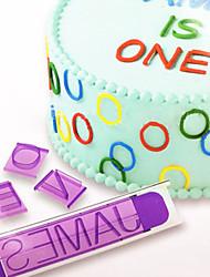 88pcs Cakes Mold Alphanumeric Symbols Biscuit Moulds Fondant Cakes Mould