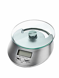 "KE-4 Electronic 2.0"" LCD Digital Kitchen Platform Scale  (5kg/1g,2 x AAA)"