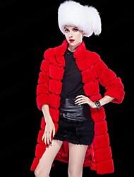 Women Rex Rabbit Fur Top , Lined