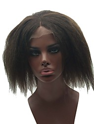 "4""*4""Silk Top Full Lace Wigs & Silk Top Lace Front Wigs For Black Women Nautral Black 8-24 Inch In Stock"