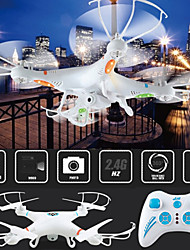 mj 2.4g 4ch 6-assige afstandsbediening rc helicopter quadcopter speelgoed drone met camera