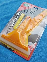 6pcs/set Car Care Carbon Fiber Vinyl Film Scraper Tools Auto Car Squeegee Hand Tools Car Wrapping Tools Set