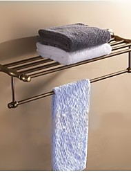 Antique Bathroom Set 60cm Length Aluminum Wall Mounted Towel Rack