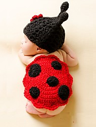 "Baby's  Modelling Clothing Accessaries Set of 2pcs . ""LADYBUG"""