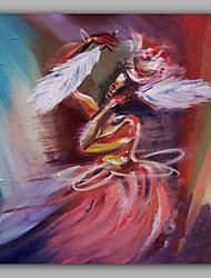 Dancer Painting Hand Painted
