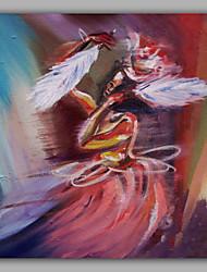 танцор картина ручной росписью