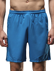 Vansydical Per uomo Asciugatura rapida Fitness Pantaloni Blu / Arancione / Royal Blue