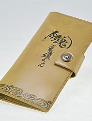 Gin Tama Cartoon Fashion Wallet Long Students Leather Wallets Men'S Wallet Women'S Wallet