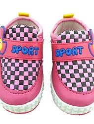 Baby Shoes - Casual - Ballerine - Cotone / Finta pelle - Blu / Rosa