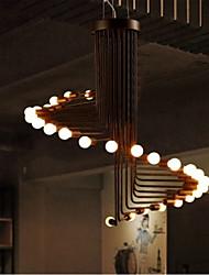 5W Lustres ,  Vintage / Retro / Rústico Anodização Característica for LED Metal Sala de Estar / Quarto / Sala de Jantar