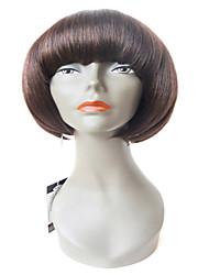 X-tress Popular Human Hair and Synthetic Wigs Bob Straight Human Wig