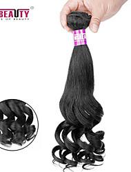 """1 pc / lot 14 """"-22"""" 7a peruanische reine Haarbirnenblume Menschenhaareinschlagfäden 100% unverarbeitetes peruanisches remy Haar spinnt"""