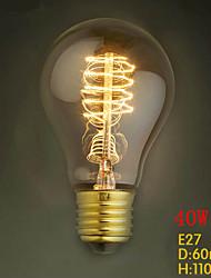 a19 оправилась 220В-240v 40w E27 щелочных луковицы популярным за рубежом, декоративные щелочных вольфрама лампочки
