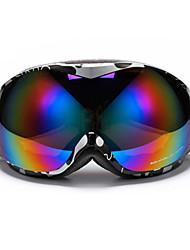 lunettes de snowboard 2016 unisexes lunettes de ski de haute qualité à double lentille sportive lunettes de ski en hiver lunettes de