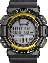 SUNROAD® Fishing Barometer Multifunction Digital Sport Watch Altimeter Barometer Pedometer Stopwatch Wrist Watch Cool Watch Unique Watch