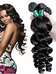 Brazilian Hair Weave Bundles cheap romance curly Hair Products Human Hair Loose Curly