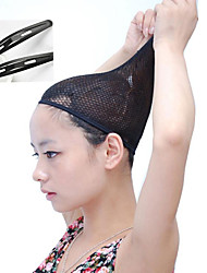 Black Wig Caps Net  Wig Accessories Special Wig Net Anti Slip Fixed Hair Clips for Wig