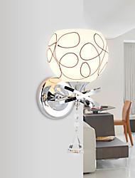Cristal / LED Chandeliers muraux,Moderne/Contemporain E26/E27 Métal