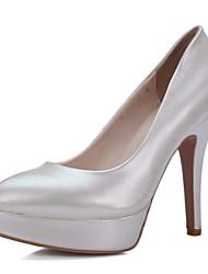Women's Wedding Shoes Heels / Pointed Toe Heels Wedding / Dress Green / Pink / Gray / Beige