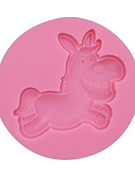 Donkey Silicone Fondant Mold,Resin Clay Chocolate Candy Silicone Cake Mould,Fondant Cake Decorating Tools SM-035