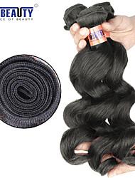 "3 Pcs /Lot 12""-24"" 8A Peruvian  Virgin Hair Loose Wave Hair Weft 100% Unprocessed Remy Human Hair Weaves"